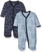Care Baby Boys 4136 Romper, Multicoloured (Royal Blue)
