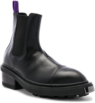 Eytys Nikita Leather Boot in Black | FWRD