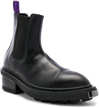 Eytys Nikita Leather Boot in Black | FWRD