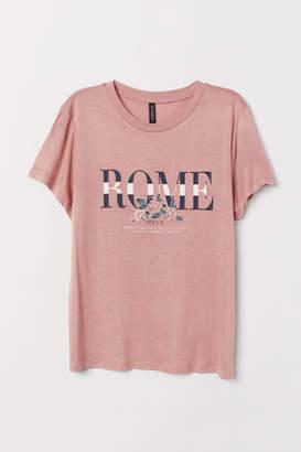 H&M Viscose T-shirt