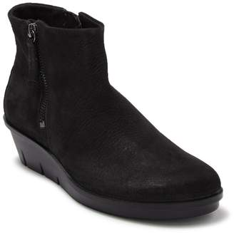 Ecco Skyler Leather Wedge Boot