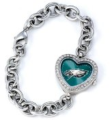 Game Time NFL Women's FH-PHI Heart Collection Philadelphia Eagles Watch