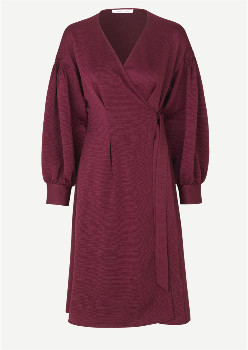 Samsoe & Samsoe Merril Dress - Rhododendron - Size XS (UK 8-10)