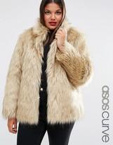 Asos Jacket in Vintage Faux Fur