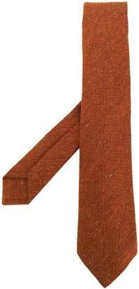 Kiton color-block knit tie
