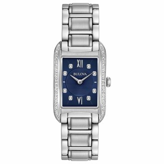 Bulova Women's Analogue Quartz Watch with Stainless Steel Strap 96R211