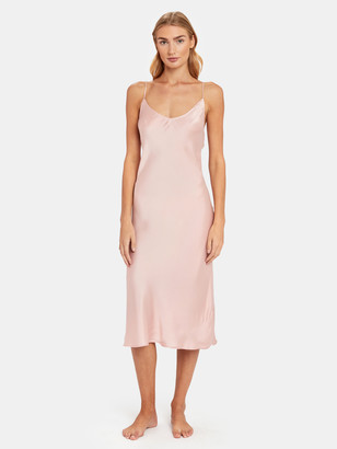 Skin Terra Silk Chemise Dress