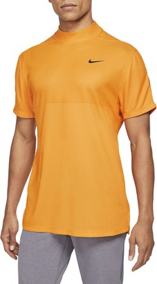 Nike Dri-FIT Tiger Woods Mock Neck Golf T-Shirt