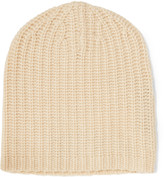 Magaschoni Ribbed cashmere beanie