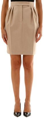 Max Mara Pleated Mini Skirt