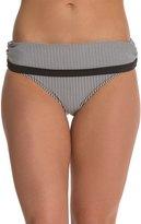 Jessica Simpson Boardwalk Shirred Swim Skirted Bikini Bottom 8124017