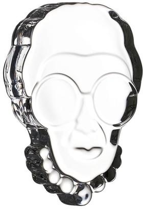 Nude Iris Glass Paperweight