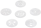 OXO Good Grips Stainless Steel Cookie Press Christmas Disks (Set of 6)