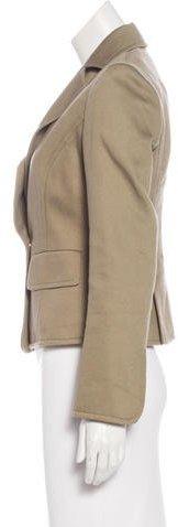 Valentino Textured Notch-Lapel Blazer