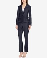 Tahari ASL Tahari ASL One-Button Pantsuit, Regular & Petite