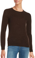 Lord & Taylor Basic Crewneck Cashmere Sweater