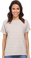 AG Adriano Goldschmied Women's Arie Short Sleeve Raglan Top