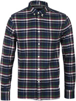 Penfield Barrhead Blue Check Shirt