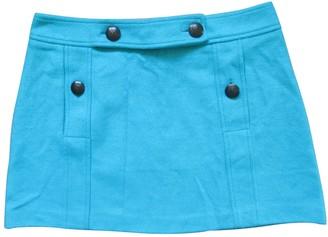 M Missoni Turquoise Wool Skirt for Women Vintage