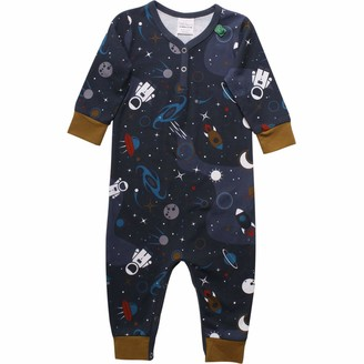 Fred's World by Green Cotton Baby Boys' Space Shaping Bodysuit