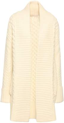 MICHAEL Michael Kors Cable-knit Wool And Alpaca-blend Cardigan