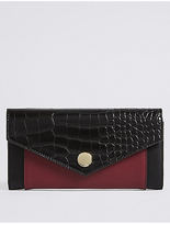 M&S Collection Colour Block Purse with CardsafeTM