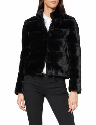 More & More Women's Fake Fur Jacke Von Faux Coat