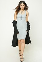 Forever 21 FOREVER 21+ Heathered Bodycon Dress