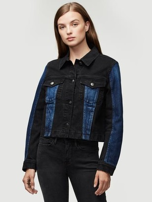 Frame Denim Block Jacket