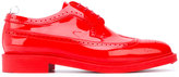 Thom Browne varnish brogues - men - rubber - 6
