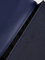 Ted Baker Krystan Bow Leather Envelope Pouch - Black