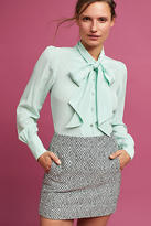 Plenty by Tracy Reese Bow Silk Blouse