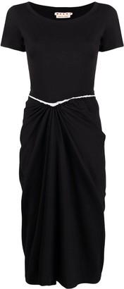 Marni Multi-Panel Design Dress