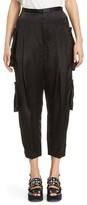 Toga Women's Pleated Satin Crop Pants