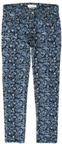 Isabel Marant Low-Rise Embroidered Jeans