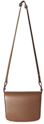 The Row Large Julien Leather Crossbody Bag