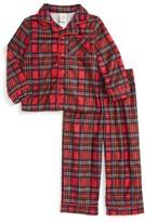 Little Me Infant Boy's Plaid Two-Piece Pajamas