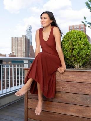 Banana Republic Linen-Blend Sweater Dress