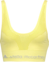 adidas by Stella McCartney The SL mesh and stretch-jersey sports bra