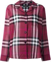 Burberry checked shirt - women - Cotton - 10