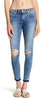 Joe's Jeans Distressed Released Hem Skinny Jean