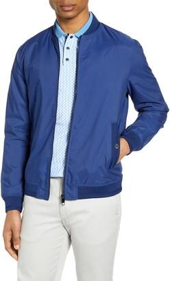 Ted Baker Slim Fit Bomber Jacket