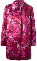 Marc Jacobs 'Petal Chiné' coat