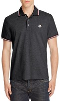 Moncler Tipped Regular Fit Polo Shirt