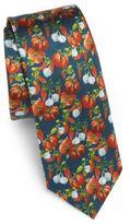 Dolce & Gabbana Fruit-Printed Silk Tie