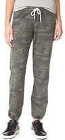Monrow Women's Camo Print Sweatpants