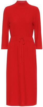 A.P.C. Vivianne merino wool midi dress
