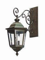 The Well Appointed House Cassandra Exterior Wall Lantern-Available in Six Different Finishes