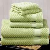 Mint Green Chevron Towels Sets of 2