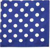 Eton Polka Dot Silk Pocket Square